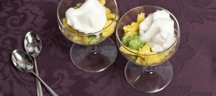 Avocado met mango