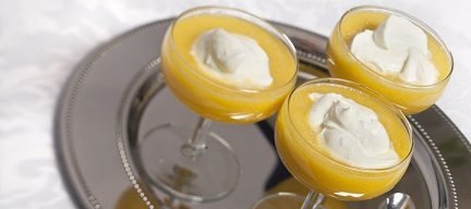 Mangosoep met citroen