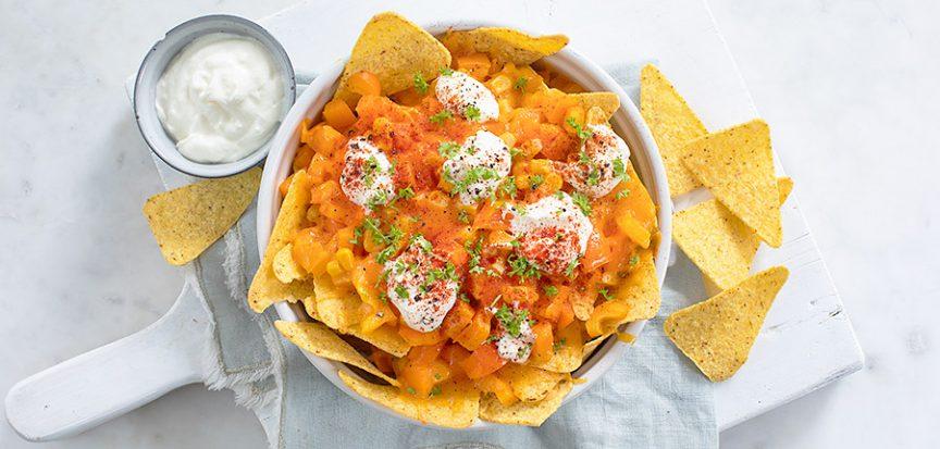 Oranje nachos