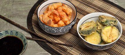 Glutenvrije tempura