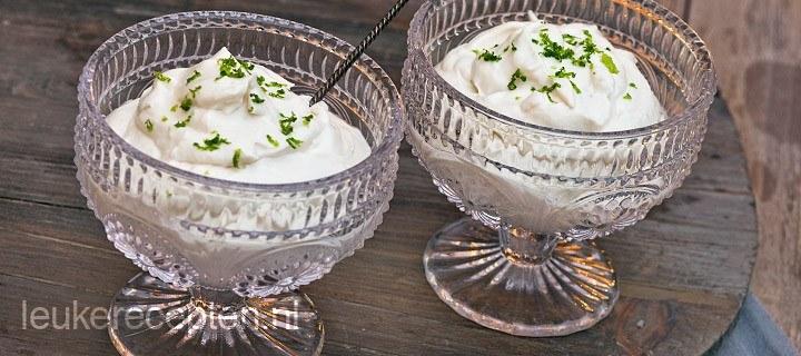 Syllabub dessert