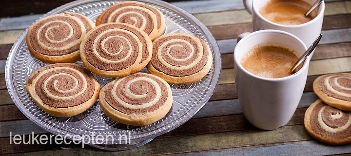 chocolade zandkoekjes - leuke recepten