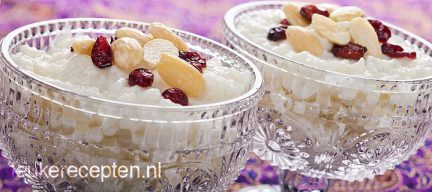 Kheer (Indiaas rijstdessert)
