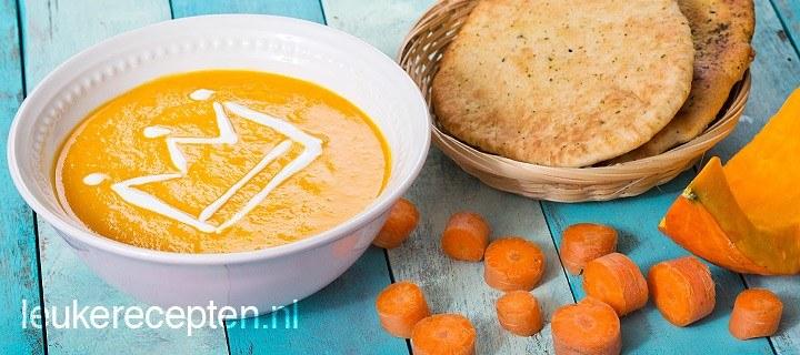 Romige oranjesoep