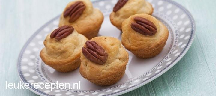 mini pecannoten muffins