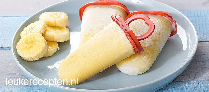 Bananen ijsjes