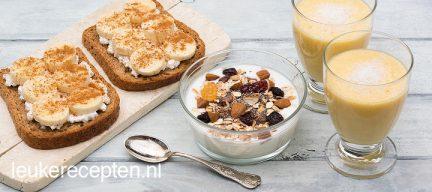 3 x gezond ontbijten