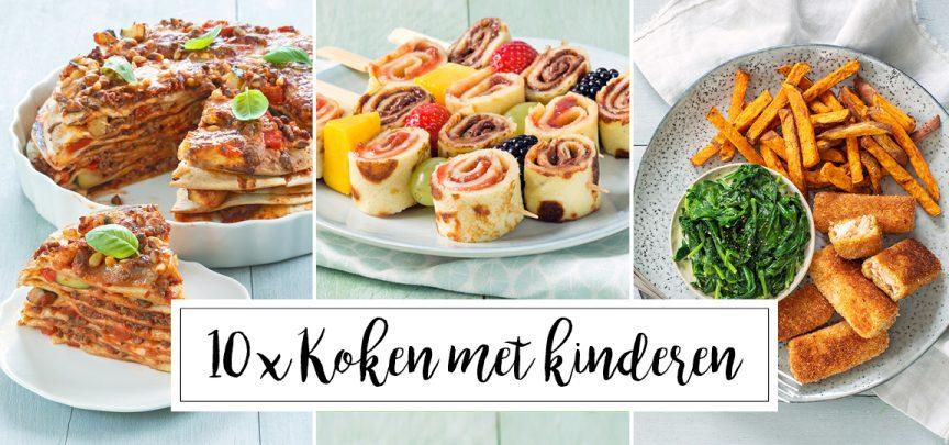 10 x koken met kinderen