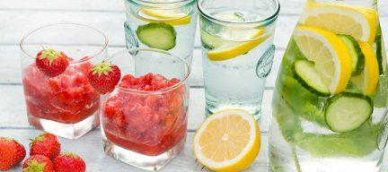 Verkoelend zomerdrankje