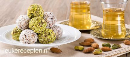 Amandel dadel truffels