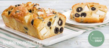 Foodblogswap augustus: feta cake