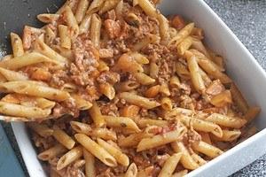 pasta bolognaise uit de oven03