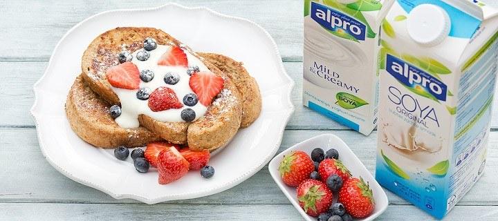 verwen ontbijt alpro