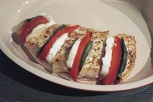 kip gevuld met mozzarella 03