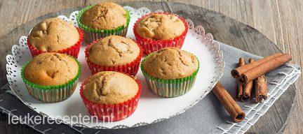 Speculaas peer muffins