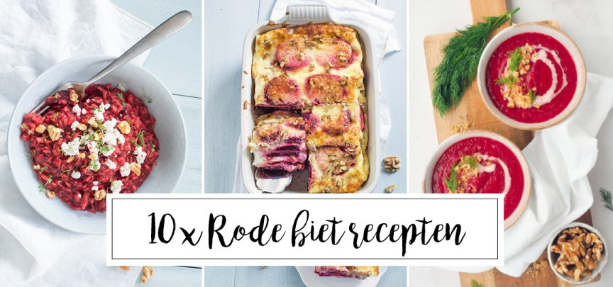 10 x recepten met rode biet