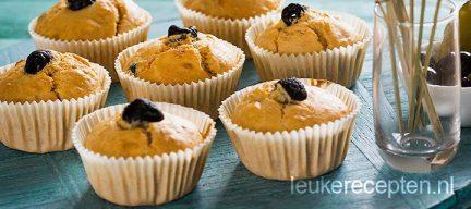 Olijven kaas muffins