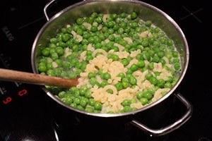 pasta met kaas en erwtjes 03