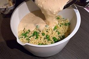 pasta met kaas en erwtjes 06