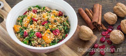Quinoa met boerenkool