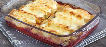 Cannelloni met aubergine
