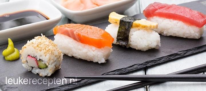 Zelf sushi maken + recepten