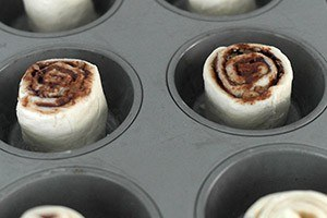 croissant rolletjes met chocolade 01