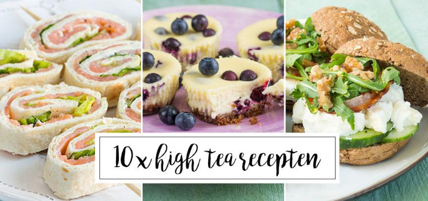 Genoeg 10 x high tea recepten - Leuke recepten &IS83