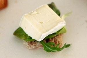 sandwich torentje met brie 01