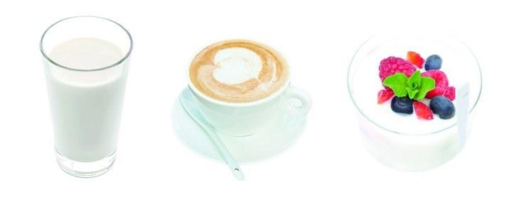 Arla melk koffie yoghurt