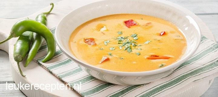 aardapppel paprika soep