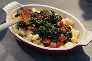 gnocchi met spinazie en chorizo 01