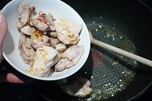 romige kip met rijst 01