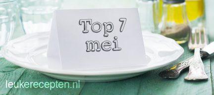 7 populairste recepten mei