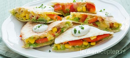 Mexicaanse quesadillas