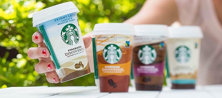 Starbucks Skinny Latte binnen handbereik