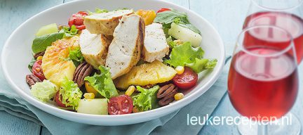 Tropische kip salade