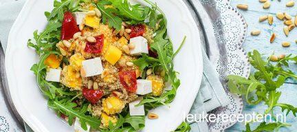Quinoa salade met mango