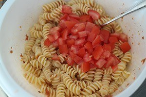 italiaanse pasta salade 01