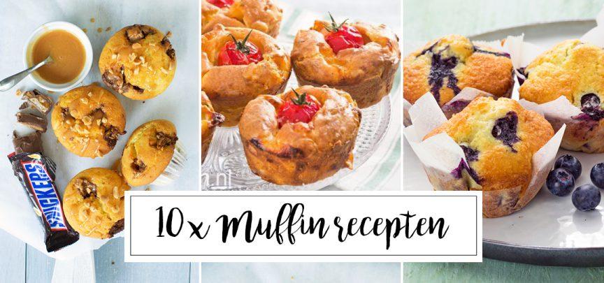 10 x lekkere muffin recepten