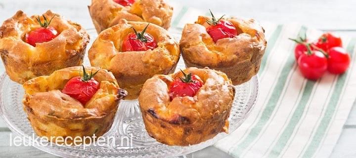 Hartige italiaanse muffins