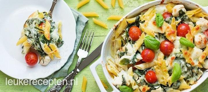 pasta_met_kip_uit_de_oven