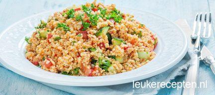 Turkse bulgur salade