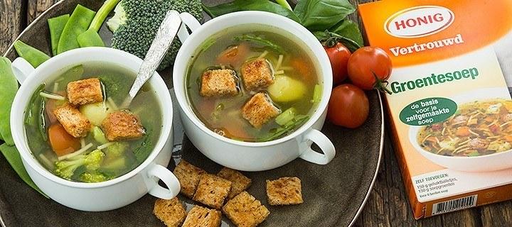 Haal alles uit je groente, maak er soep van!