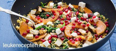 Couscous met pompoen
