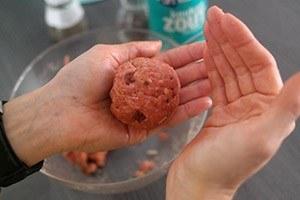 gehaktballen met gedroogde tomaat 03