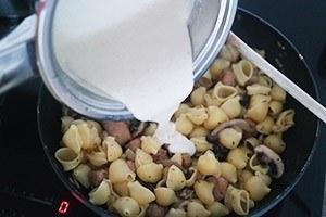 pasta met paddestoelen uit de oven 01