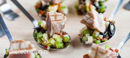 Mini salade nicoise