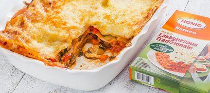 Haal alles uit je groenten, maak er lasagne van!