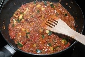 lasagne met pittig gehakt 01